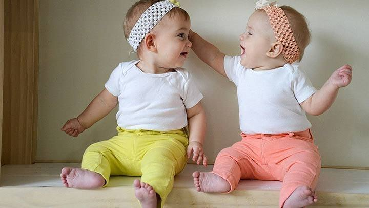 Cute Identical Twin Babies | www.pixshark.com - Images ...