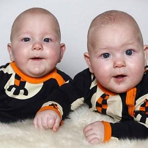 twin baby boys