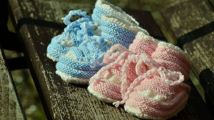 twin baby names - girl / boy shoes