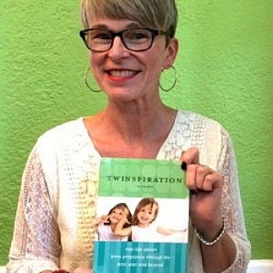 Cheryl Lage with book