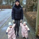 cervical cancer story - mother with identical twins