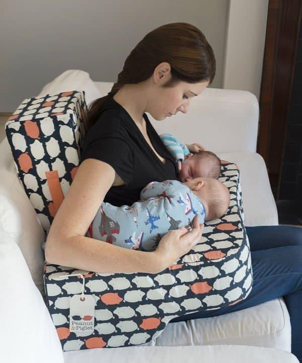 The Piglet Twin Breastfeeding Pillow