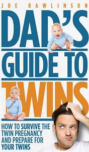 Book cover of dad's guide to twins