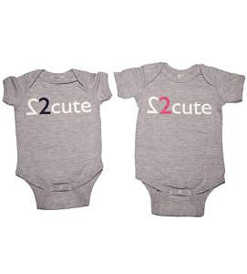 My twins are cuter onesies