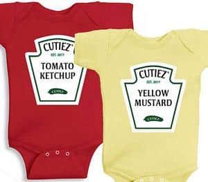 mustard ketchup twin costume