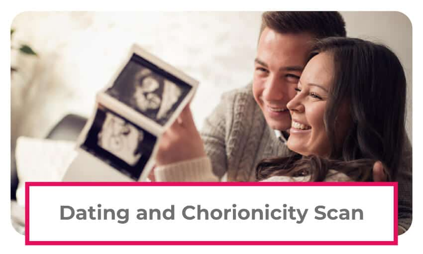 dating and chorionicity scan 12 week ultrasound