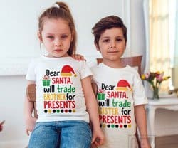 boy girl twins Christmas Outfits