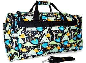 Twiin Gear Dino Diaper Duffle Bag
