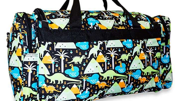 Twiin Gear Dino Diaper Duffle Bag