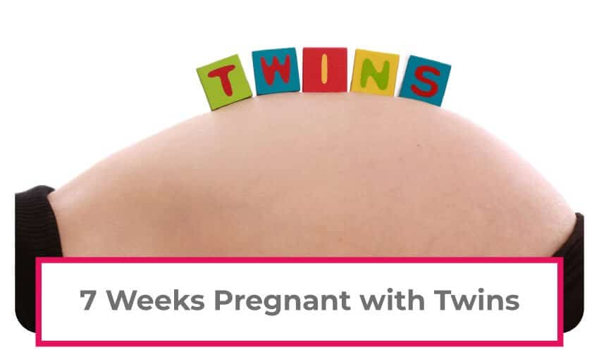 Information on being 7 weeks pregnant with twins