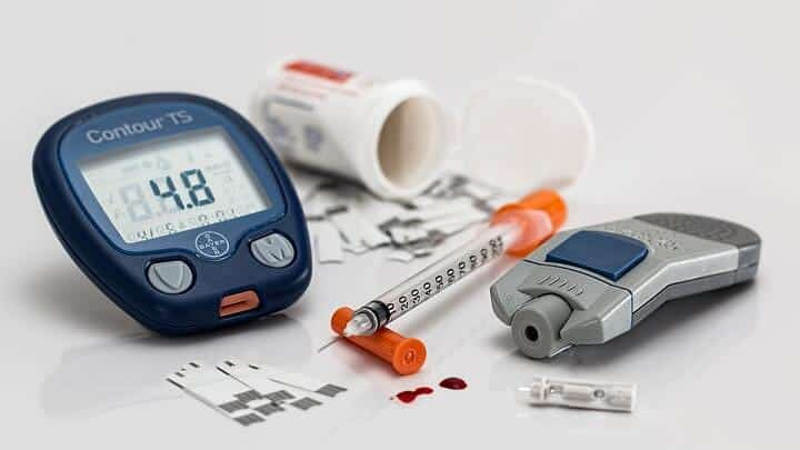 diabetes equipment needle