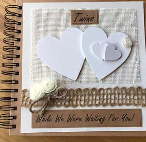 hearts twin pregnancy journal book