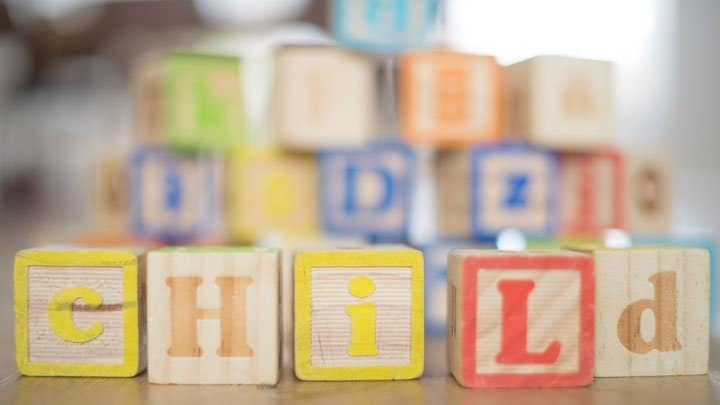 wooden block letters for preschool