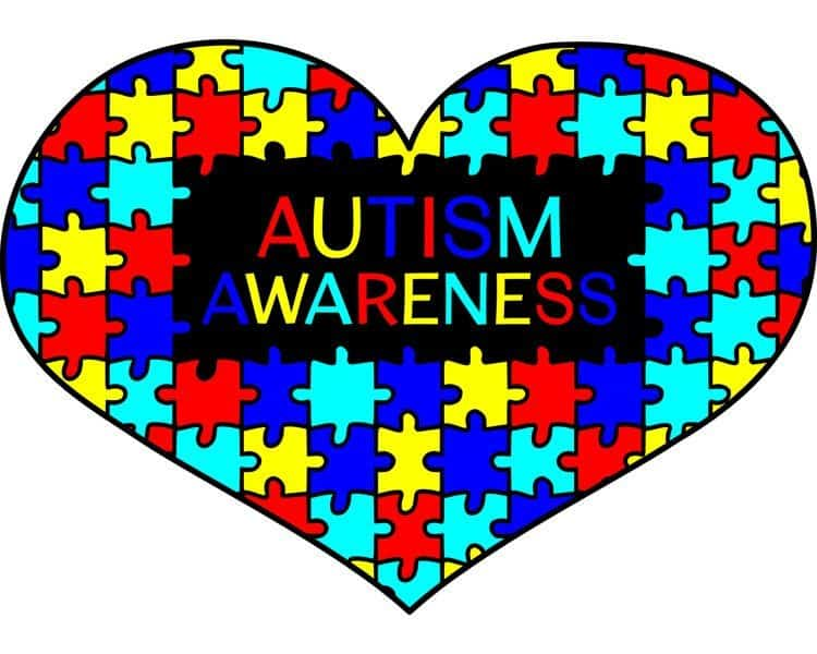 heart puzzle autism awareness