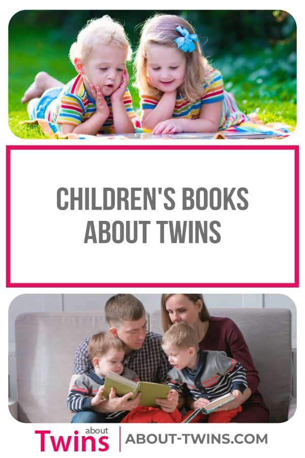 A collection of children's books about twins.