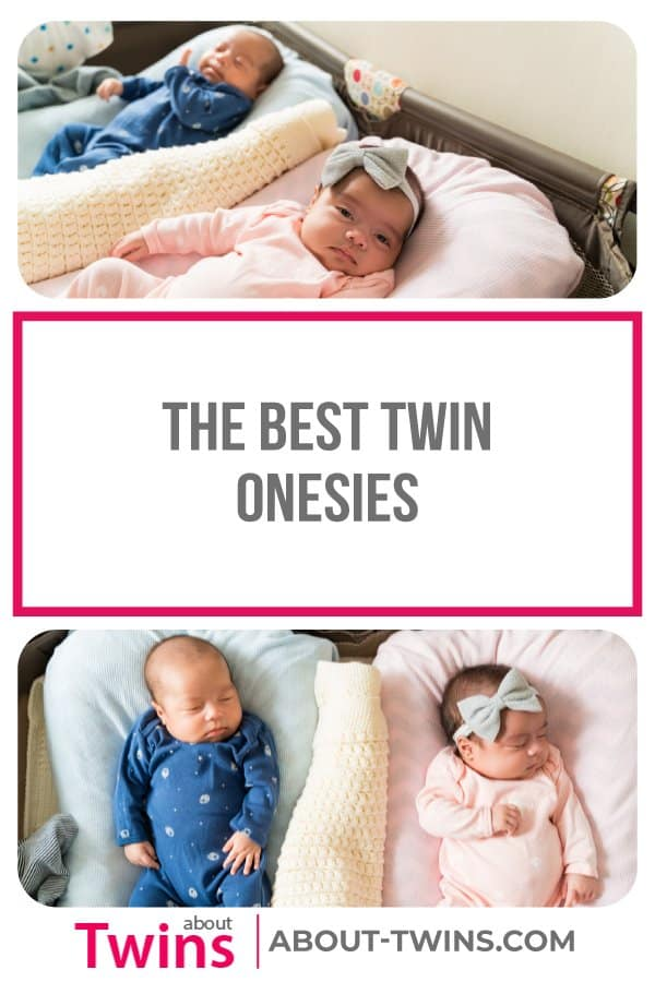 The best onesies for twins. Get these cute onesies to dress your littles in.