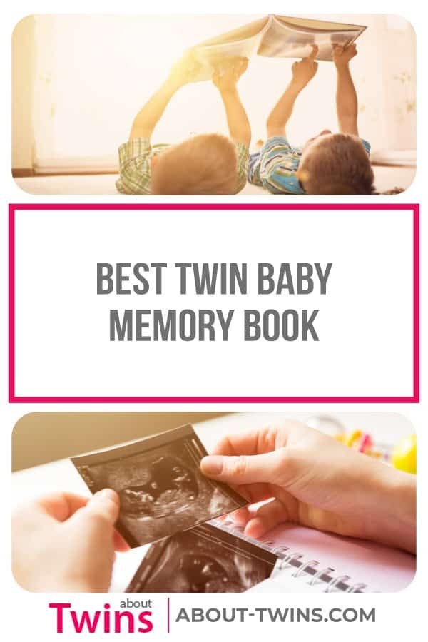 A collection of the best twin baby memory books.